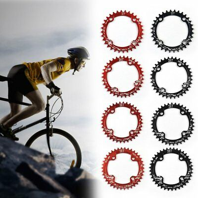BCD 104mm Moutian Bike Chainring Narrow Wide Single Speed Chain Ring 32T-38T QZ