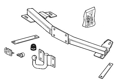 brink towbar for vauxhall corsa hatchback b 1992 2000 fixed Chassis Wiring Diagram brink towbar for vauxhall corsa hatchback b 1992 2000 fixed flange tow