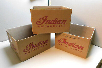 Indian Motorcycle oil boxes-Lg. 3-pak.man Cave/collectables/free shipping