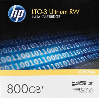 Hp Storage Media 7A-Hp Ultrium Rw Data Cartridge - Lto Ultrium 3 - 400 Gb /  NEW