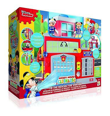 New Mickey Mouse Clubhouse Mickey Mouse To The Rescue Fire Station Play Set Kid