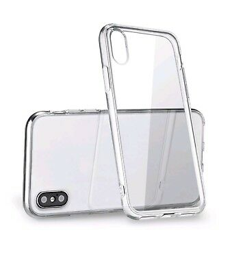 """For Apple iPhone XS Max Case 6.5"""" Silicone Clear Bumper Gel iPhone 10S Max Cover"""