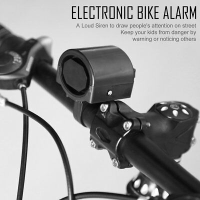 Electronic Bicycle Horn Electrical Bike Bell Cycling Handlebar Ultra Loud UI