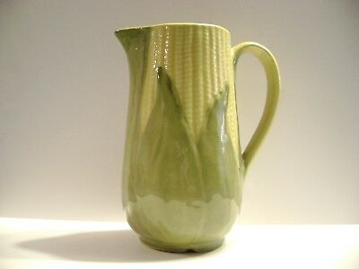 Vintage Shawnee Pottery Yellow King Corn # 71 Tall Water Pitcher