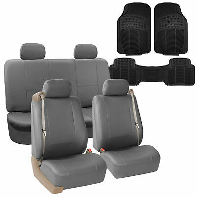 Brilliant Car Seat Cover Highback Integrated Seatbelt Full Set Gray Caraccident5 Cool Chair Designs And Ideas Caraccident5Info