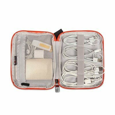 Electronic Accessories Cable Organizer Bag Travel USB Charger Storage Case LOT K