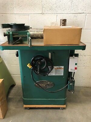 Grizzly 3HP Shaper G1026 Local Pickup Only