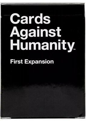 Cards Against Humanity First Expansion Adult Party Hilarious Game Brand New