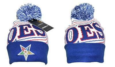 Order of the Eastern Star OES Pom Beanie- Style 2-New!