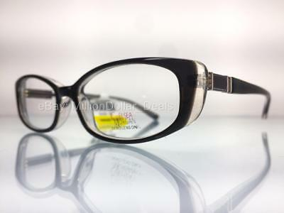 939d5c17980 Chelsea Morgan Womens Rx Prescription Eye Glasses Frames CM 3002 Black  52-17-135