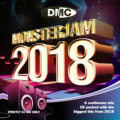 Dmc Presents Monsterjam 2018 Brand New Dj Remix Service 2Cd Set