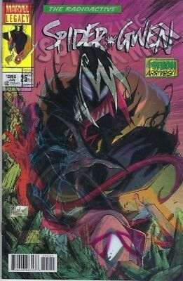 Spider-Gwen #25 Lenticular Cover Amazing Spider-Man #316 Cover Homage
