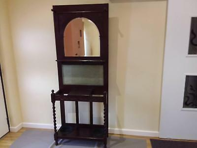 Antique hall stand. 1920's. 1.9 metres high.