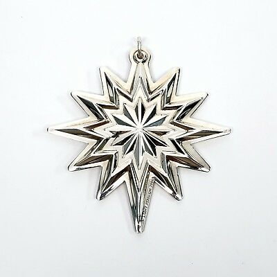Lunt Sterling Silver Star Ornament 2006