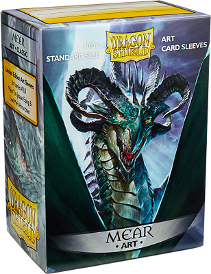 DRAGON SHIELD Sleeves Art Mear 100Ct Standard Size - New - Free Shipping!
