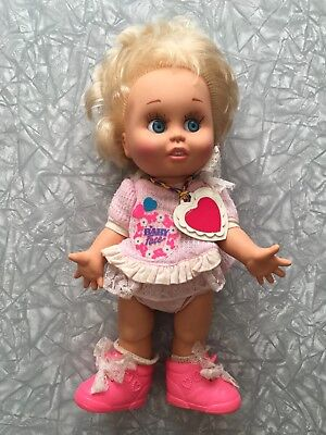 1990 Baby Face Doll Galoob LGTI #7 So Innocent Cynthia diaper shoes vintage 90's