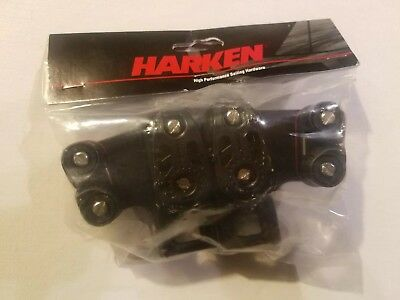 Harken 2743 Small Boat CB DBL Traveler Controls With Cam.