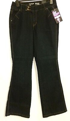 Lane Bryant Jeans Sz 14T Tighter Tummy Tuck Technology Flare Stretch NWT $69.95