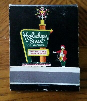 Vintage Holiday Inn Match Book*advertising Collectable*ships Free