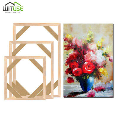 Professional Frame Wood Bar Stretcher Strip For Canvas Print Oil Painting Art A