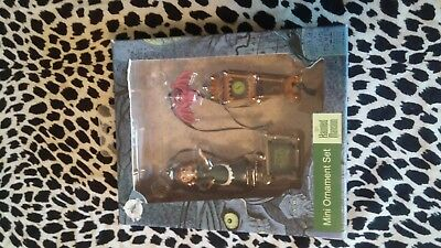 Haunted Mansion Disney Parks Exclusive Mini Ornament Set Disneyland New