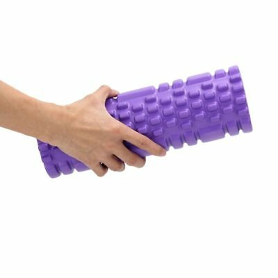 Exercise Fitness Floating Point EVA Yoga Foam Roller Physio Trigger Massage EL