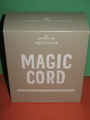 Hallmark Keepsake Magic Cord Power 7 Ornaments - 2010 & Later - Brand New !