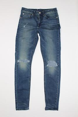 Pacsun women s Stacked Distressed holes rip Denim Slim Skinny Jeans Size  28X30 5c860d6cb3