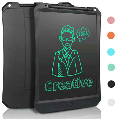 Kids 11'' Inch LCD Writing Drawing Tablet Graffiti Board Memo Message Pad Stylus