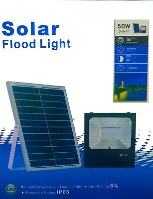Solar Flood Light 50W Light Decay Is Less THen In 10000 Hourse Testing 5 %