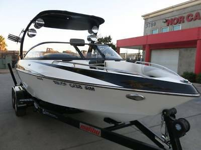 2008 Malibu VLX wakeboarding ski boat trailer wakesetter Project Clean Title 08
