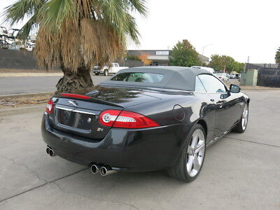 2013 Jaguar XKR Convertible/Supercharged/510hp/ZF6-spd auto w/OD. 2013 Jaguar XKR Convertible Supercharge wrecked rebuildable salvage damaged 13