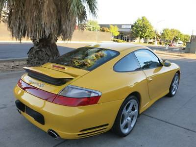 2004 Porsche 911 Carrera 4S-3.6L V6/Automatic-Transmission 2004 Porsche 911 Carrera 4S salvage damaged wrecked rebuildable 04 Low Reserve