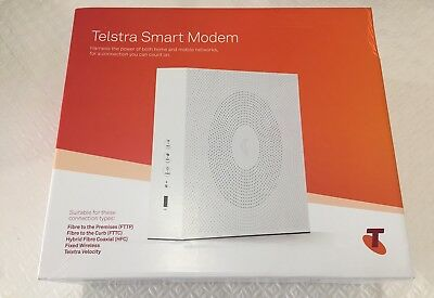 Latest Telstra Smart Modem - Brand New in Sealed Box