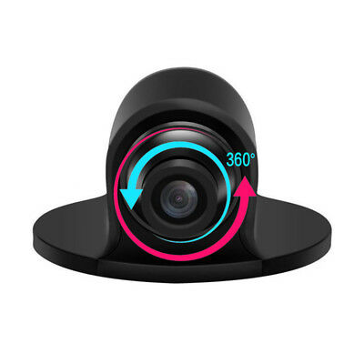 Rotate 360° CCD HD Car Front Side Reverse Camera / Rear View Parking Waterproof