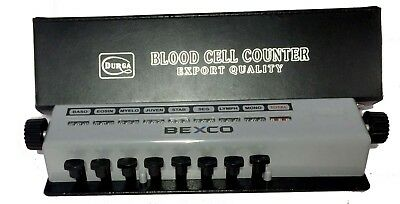 Best Quality,8 Key Blood Cell Counter with Protective Case By BEXCO Free Ship