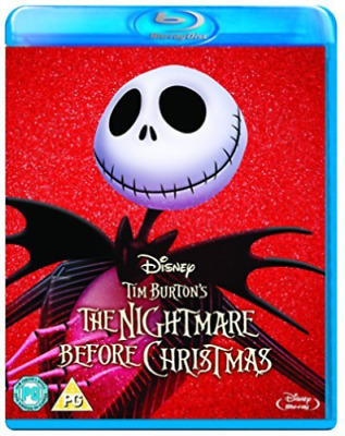 The Nightmare Before Christmas (Tim Burton) [Bluray] New & Sealed