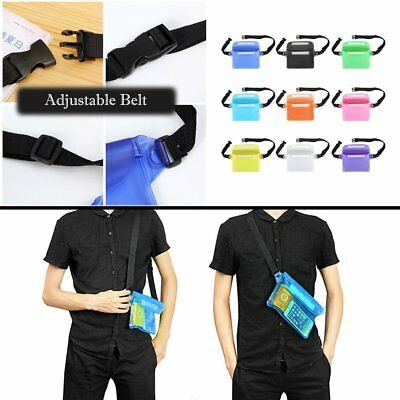 Sports Waterproof Phone Bag Waist Bag Swimming Drifting Diving Waist Pouch AU