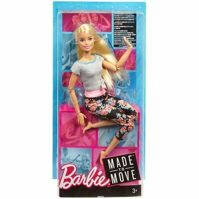 Mattel FTG81 Barbie - Made to Move - Capelli Lisci