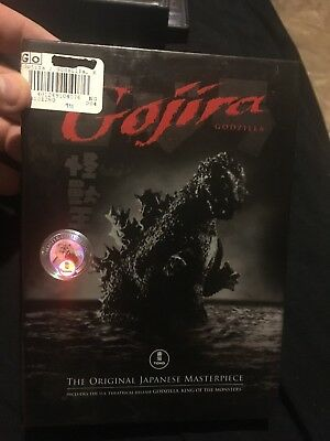 Gojira (DVD, 2006, 2-Disc Set, Original + American Versions)
