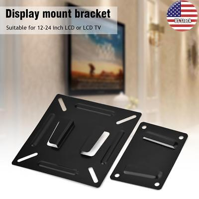 Wall-mounted Stand Bracket Holder for 12-24 Inch LCD LED Monitor TV PC Screen US