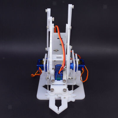 4DOF Mechanical Robot Arm Clamp Claw DIY Kit Manipulator for Robotics