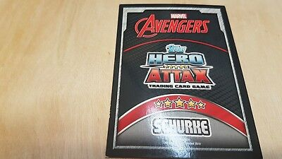 HOLO Marvel HERO ATTAX The Avengers Trading Card AGE OF ULTRON