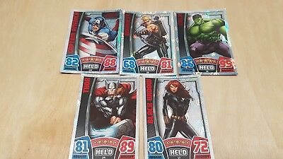 HOLO  SUPERSELTENE Marvel HERO ATTAX The Avengers Trading Card AGE OF ULTRON