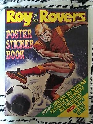 Roy Of The Rovers Poster Sticker Book