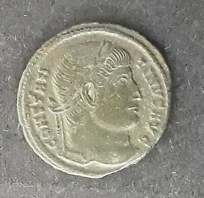 326 AD Ancient Roman Constantine the Great AE follis Copper coin