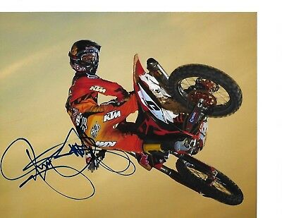 Ryan Dungey Autograph Autographed Signed 8x10 Photo Motocross Supercross