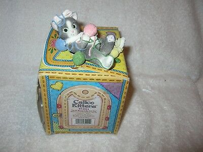 Calico Kittens, I'm All Wrapped Up Over You 1997 B/N/I/B In a special Box
