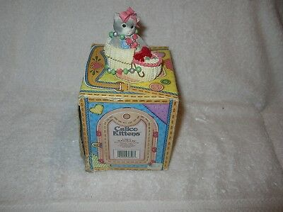 Calico Kittens, a Puff-fect Fit 1997 B/N/I/B In A Special Box A Gift Of Love