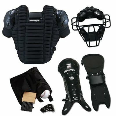 MacGregor Umpire Pack Complete Baseball Set Equipment Gear Mask Chest Protector
